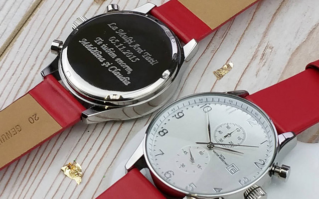 Customised and Personalised Watches