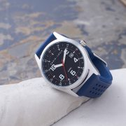 Personalised Atlantic Blue Strap Watch