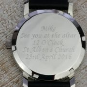Personalised and engraved watch by David-Louis