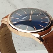 Rose Gold Watch engraving on side